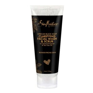 natural-hair-culture-SheaMoisture-African-Black-Soap-Clarifying-Facial-Wash-Scrub-4oz